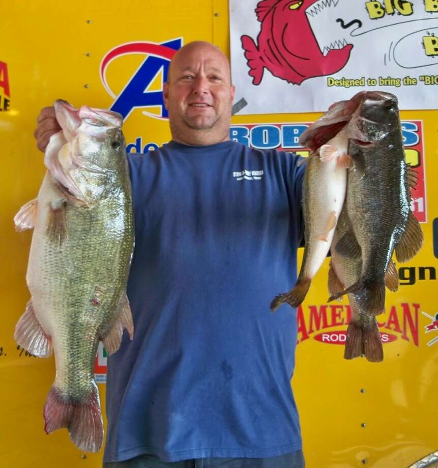 Vince Anderson, of Willis, won the Ignition Bass Individual Tournament No. 1 with a stringer weight of 15.46 pounds.