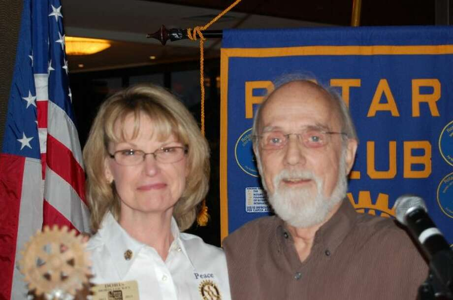 Doris Lockey, of The Rotary Club of Lake Conroe, has been selected as Rotary District 5910 governor nominee for the 2015-16 Rotary year. Past District Governor Ulli Budelmann traveled to RCLC from Galveston last week to personally make the announcement.