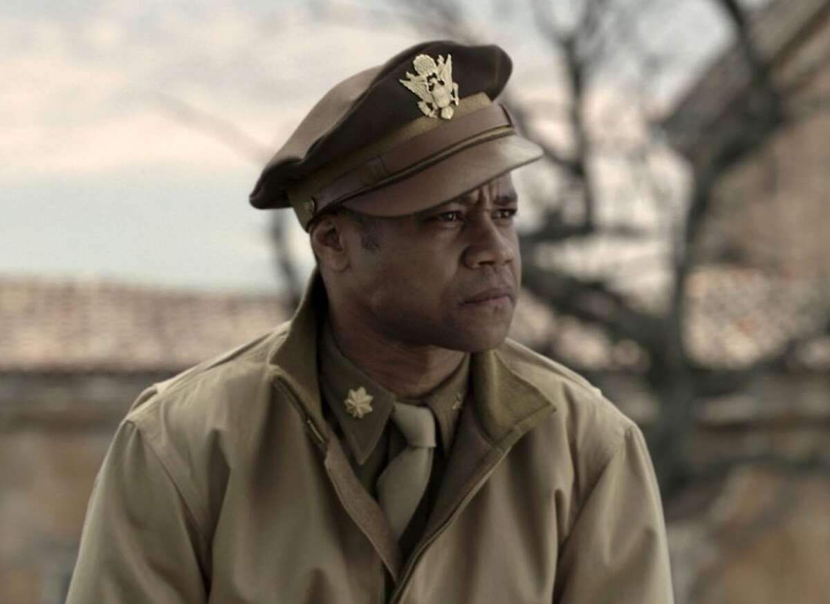 """In this image released by 20th Century Fox, Cuba Gooding Jr. portrays Major Emmanuel Stance in a scene from the film, """"Red Tails."""""""