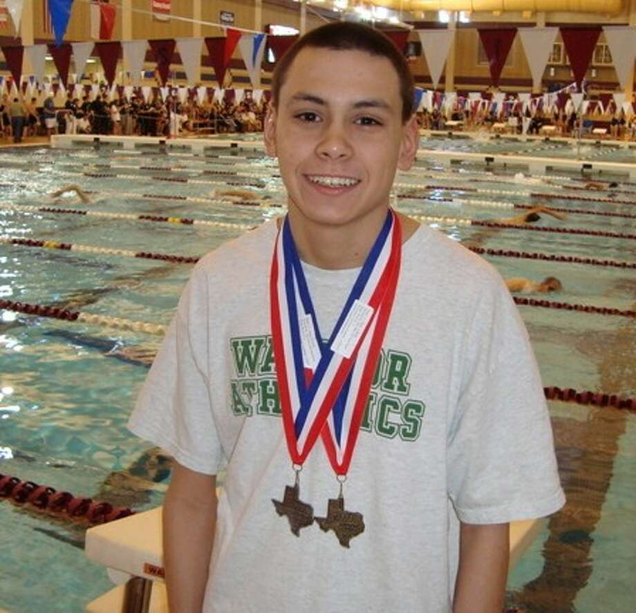 The Woodlands Christian Academy's David King won two medals at last year's TAPPS State Championships. He will defend his 500-yard freestyle title Saturday while aiming for gold in the 100-yard backstroke, an event he finished second in last year.