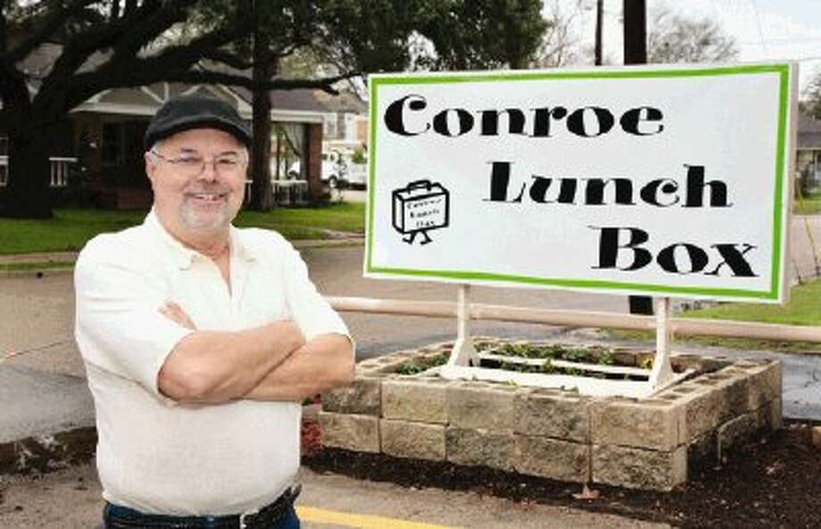 Conroe entrepreneur James Canada's newest casual dining restaurant is the Conroe Lunch Box, located at 909 Houston St.