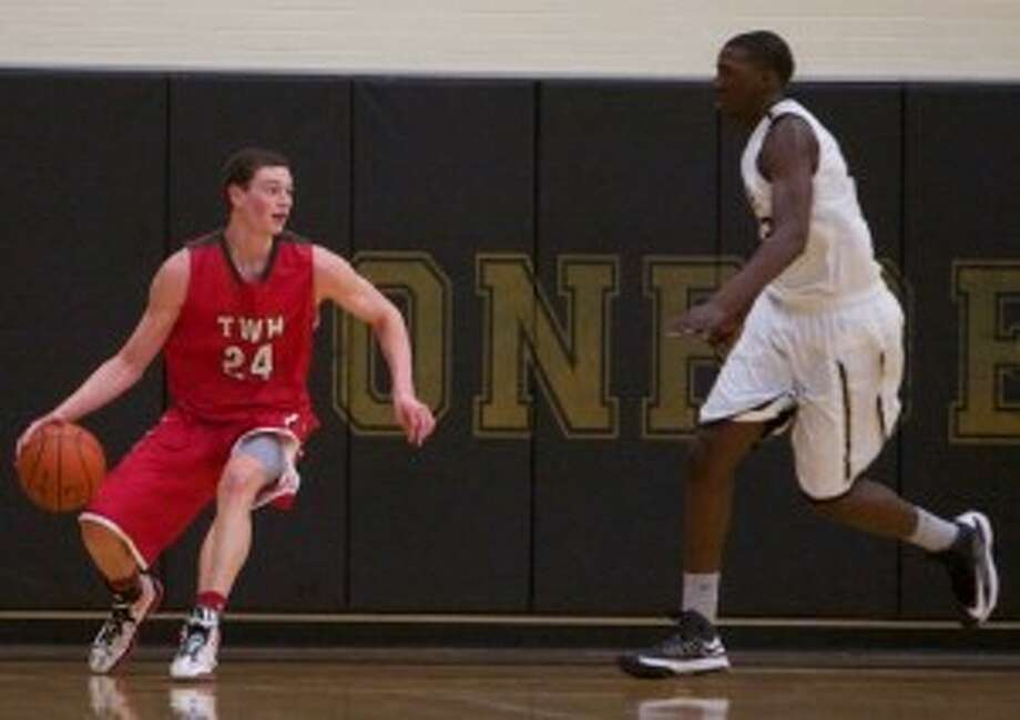 The Woodlands forward Cody Mason and the Highlanders travel to play Bryan tonight.