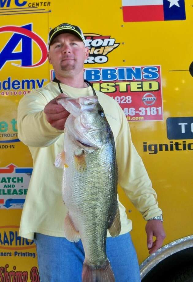 Jason Slot had the big bass of the day at the Sunday Ignition Bass Super Tournament.