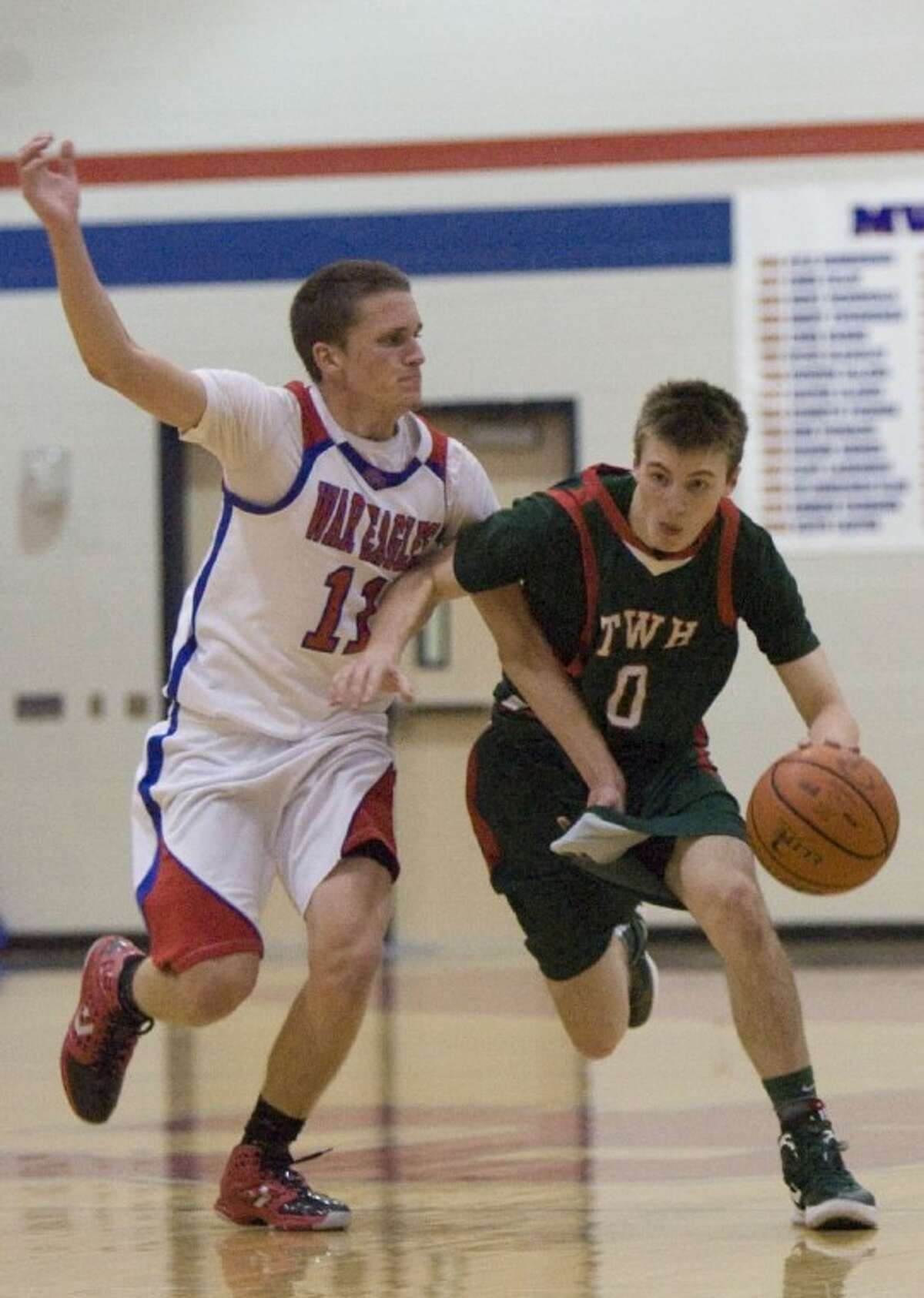 The Woodlands' Brian Baehl has helped fill the shoes of Nolan Cass, who broke his wrist Jan. 13.