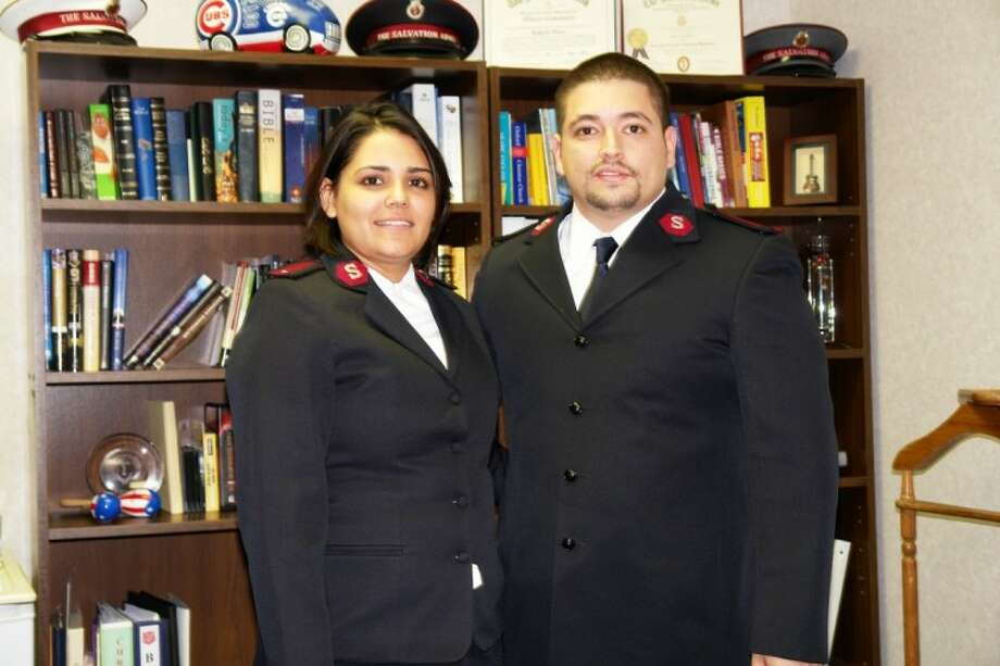 Lts. Robert and Glenis Viera, commanding officers of the first Salvation Army in Kuwait, will take over duties at the Conroe Salvation Army.