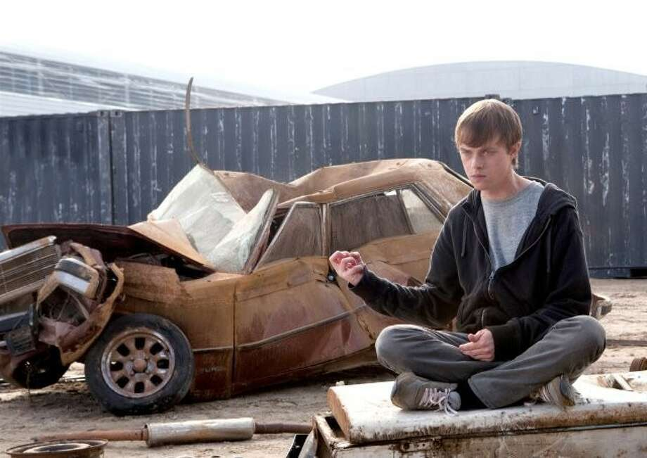 """In """"Chronicle,"""" an unpopular and troubled teenager named Andrew (Dane DeHaan) decides to start video taping his life."""