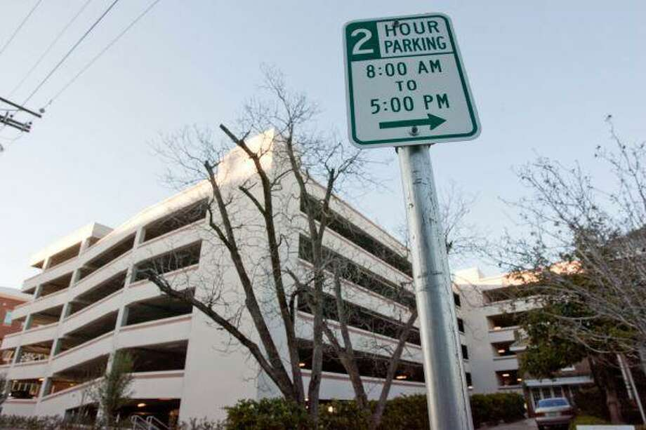 Conroe City Council members will look into the option of reducing the two-hour time limit on downtown parking to just one hour to encourage city and county employees to make use of two county-owned garages downtown. / The Courier
