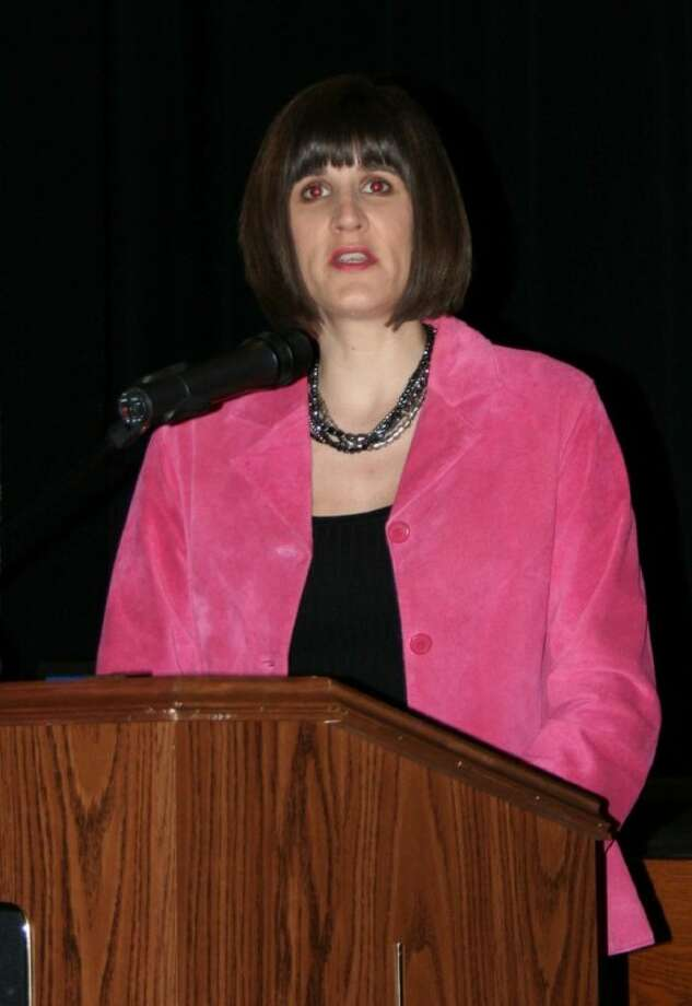 Barbie Stanford was one of several members of the organization Magnolia Education Matters to speak at the town hall meeting on March 2 regarding the state's education budget.