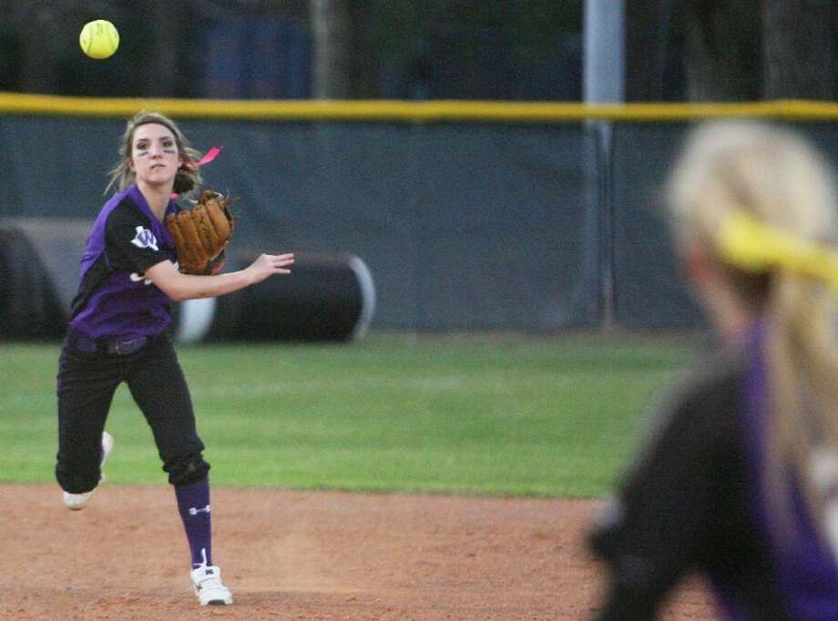 Willis shortstop Grace Estes was named first-team All-District 18-4A. Photo: Eric S. Swist
