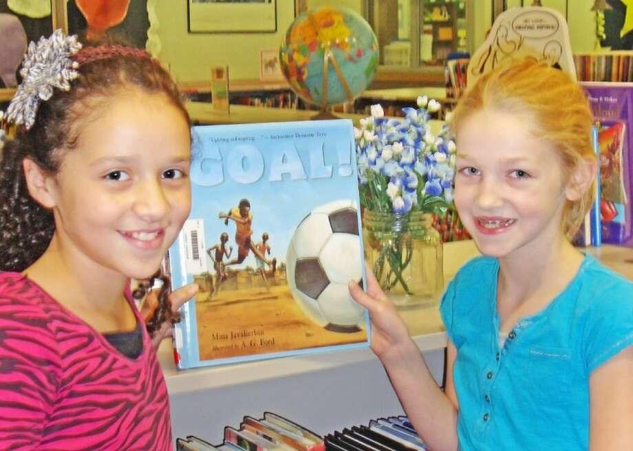Giesinger Elementary students enjoyed a Texas Bluebonnet Award nominated book. Photo: Courtesy Photo