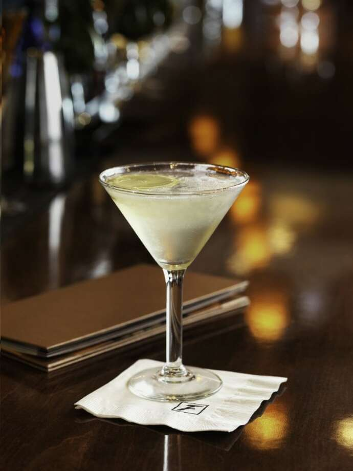 "The Limoncello Martini is the newest cocktail featured on the ""5 for $6 'til 7"" bar menu at Fleming's Prime Steakhouse & Wine Bar in The Woodlands. Photo: Tucker & Hossler"