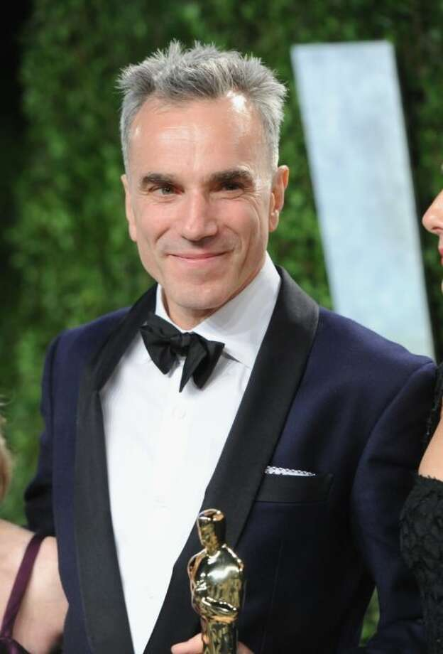 Actor Daniel Day-Lewis arrives at the 2013 Vanity Fair Oscars Viewing and After Party, Sunday, Feb. 24 2013 at the Sunset Plaza Hotel in West Hollywood, Calif. Photo: Evan Agostini