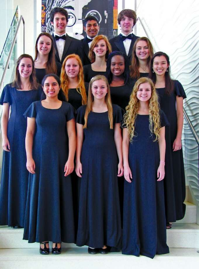 One of the largest groups of students from a school selected as members of the Texas Private School Music Educators Association All-State Choir are from The John Cooper School in The Woodlands. Two Cooper band students were also selected to play in the TPSMEA All-State Band. Photo: Courtesy Photo