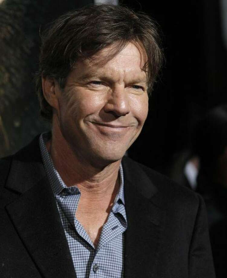 "Actress Dennis Quaid arrives at the premiere of the feature film ""Legion"" in Los Angeles. / AP2010"