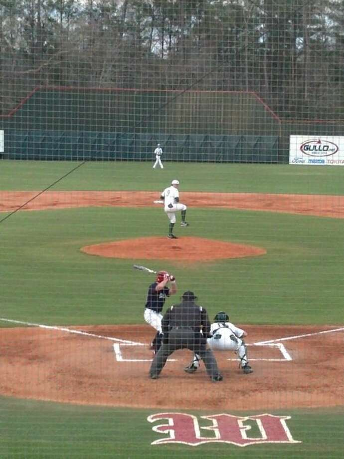 The Woodlands' Ryan Burnett tossed a no-hitter in a 9-1 win over Clear Lake on Tuesday night.