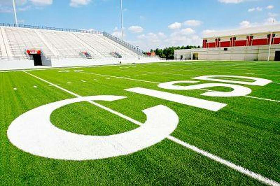 In less than three weeks, the Woodforest Bank Stadium will have people sitting in its bleachers and athletes tackling each other on its field, marking the first game at the new state-of-the-art stadium in Shenandoah. On Aug. 28, at 7 p.m., Oak Ridge will host Caney Creek. The following evening, Aug. 29 at 7:30 p.m. The Woodlands Highlanders will play host to Cypress-Fairbanks. The Woodlands College Park High School also will call the stadium home. Moorhead Stadium, located adjacent to Conroe High School has served as the home stadium for all five Conroe Independent School District high schools in the past. The stadium is part of the 60-acre Conroe ISD Sports Complex, featuring the 10,000-seat stadium and a 1,000-seat natatorium. The stadium will house football, soccer, lacrosse and band competitions. The complex was part of the $279.9 million in voter-approved bonds from 2004.