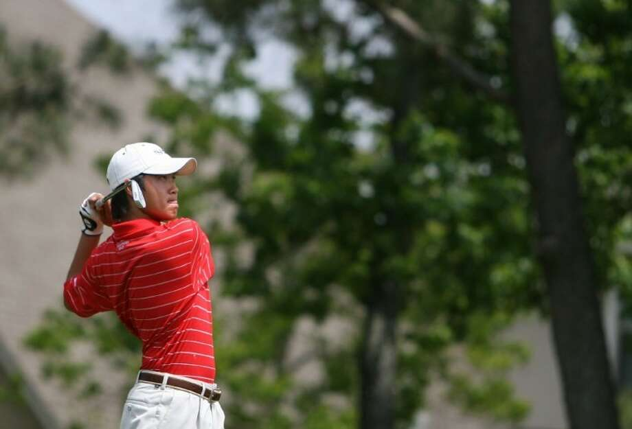 Chester Wang of The Woodlands shared medalist honors with teammate Fernando Cruz in the Creed Memorial Golf Invitational.