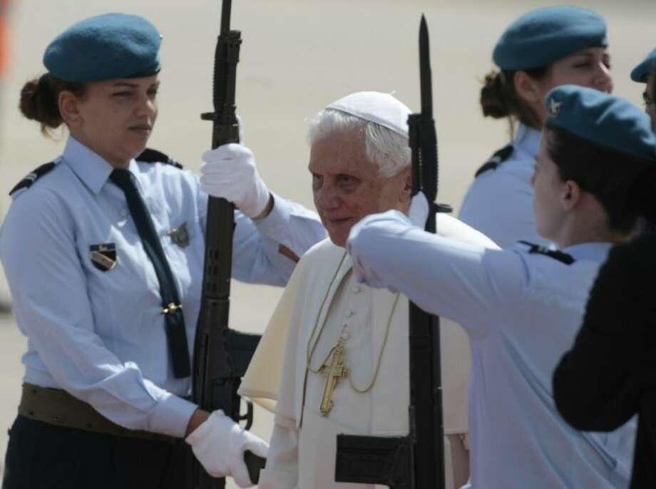 Pope Benedict XVI Photo: Gregorio Borgia