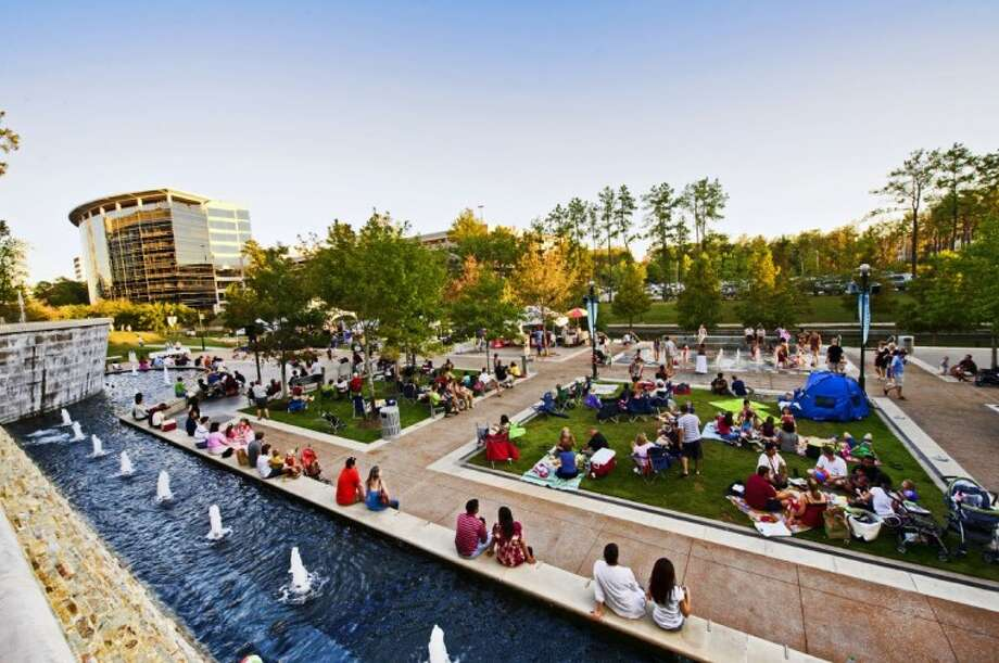 "Another season of the outdoor concert series ""Live at Night,"" returns to Waterway Square in The Woodlands every Saturday in March from 6-8 p.m. Photo: DERRICK BRYANT PHOTOGRAPHY"