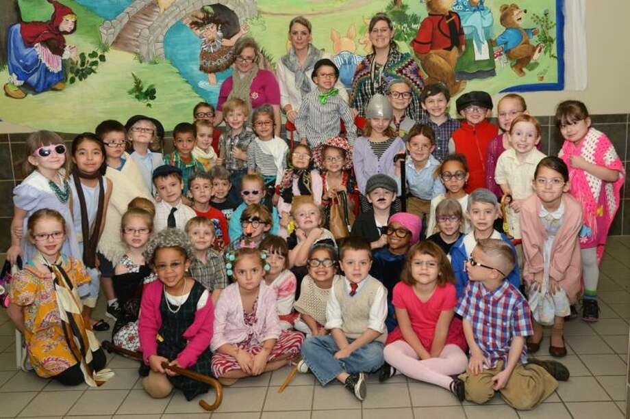 Giesinger students celebrated the 100th day of school.