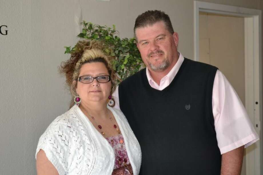 Shawn and Shannon Nelson, founders of The East Texas Dream Center located on First Street in Conroe.