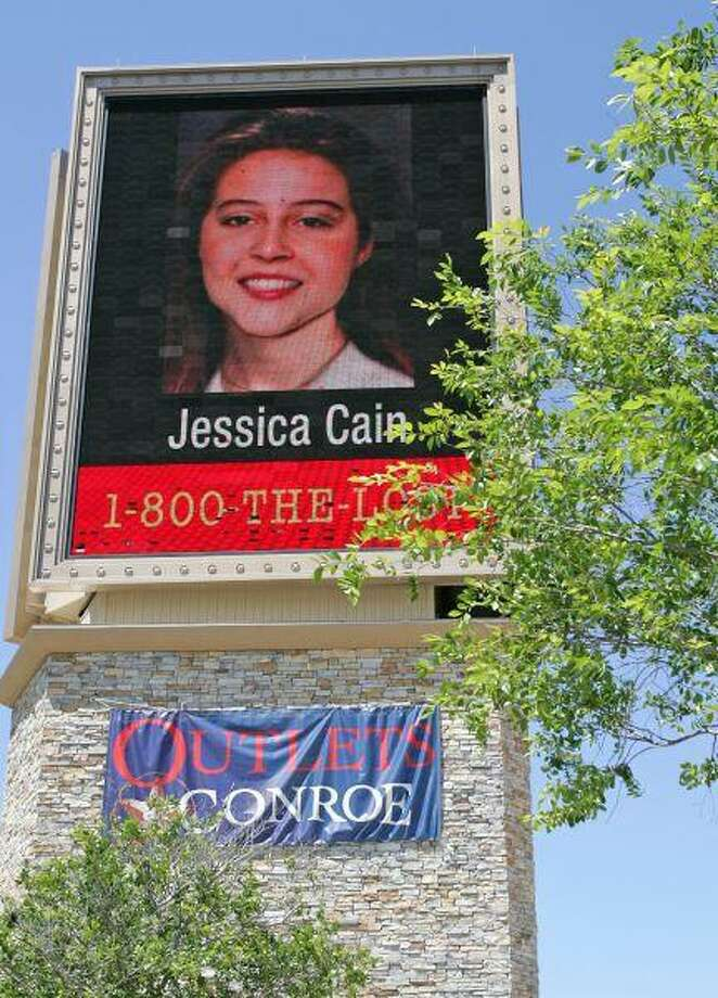 The Outlet at Conroe Outlet officials have chosen to highlight 100 missing Texas children on its giant illuminated billboard along Interstate 45 during the Memorial Day weekend. In addition to the photographs, contact information for the National Center for Missing and Exploited Children will be projected onto the LED screen. / The Courier