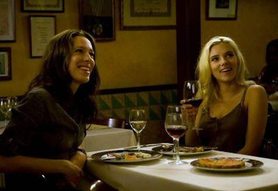 "In this image released by The Weinstein Co., Rebecca Hall, left, and Scarlett Johansson star in Woody Allen's ""Vicky Cristina Barcelona."" / AP2007"