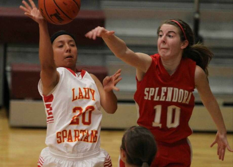 Splendora's Emily Richardson was named the All-District 22-3A Most Valuable Player by the league's coaches. Photo: Jason Fochtman