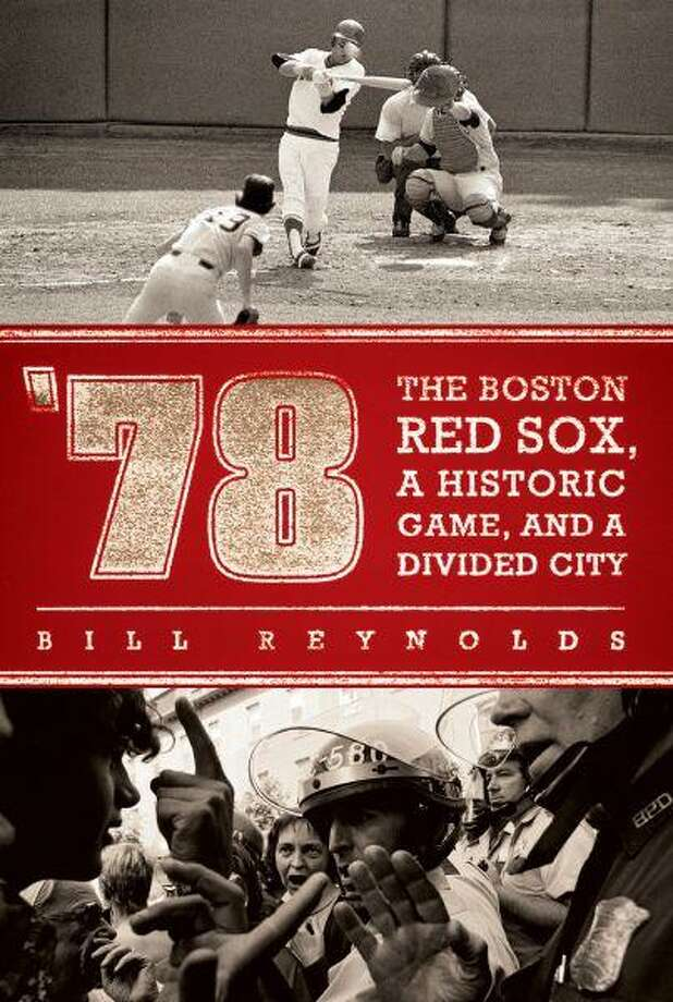"In this book cover image released by New American Library, ""'78: The Boston Red Sox, a Historic Game, and a Divided City,"" by Bill Reynolds, is shown. / New American Library"