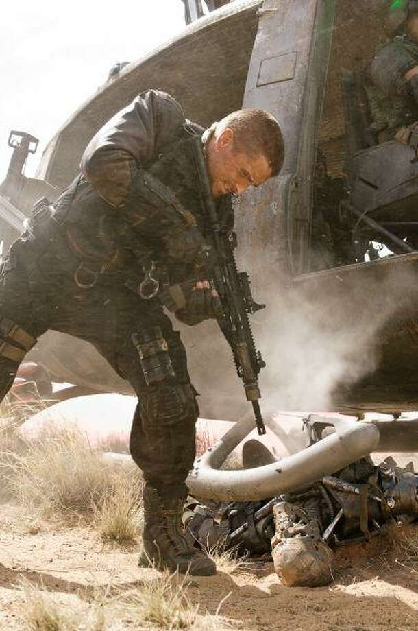 """Christian Bale stars as John Connor in Warner Bros. Pictures' action/sci-fi feature """"Terminator Salvation."""" / © 2008 T Asset Acquisition Company, LLC"""