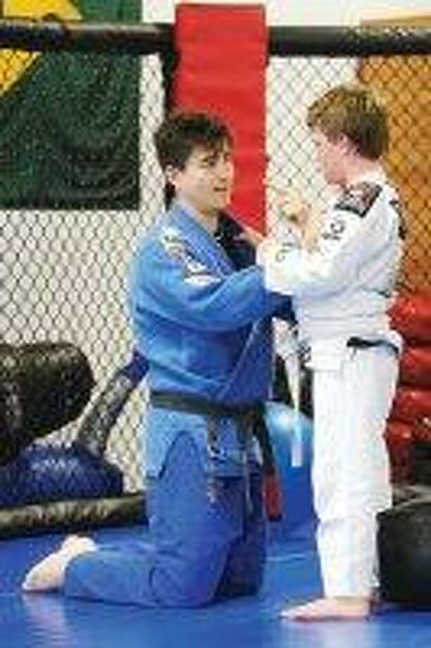 "Joey Giammatteo, 10 years old, Jiu-Jitsu competitor who is ""very special"" and has ""great technique"" according to his instructor, Fabrico Amaral (a Jiu-Jitsu black belt). / @WireImgId=273042"