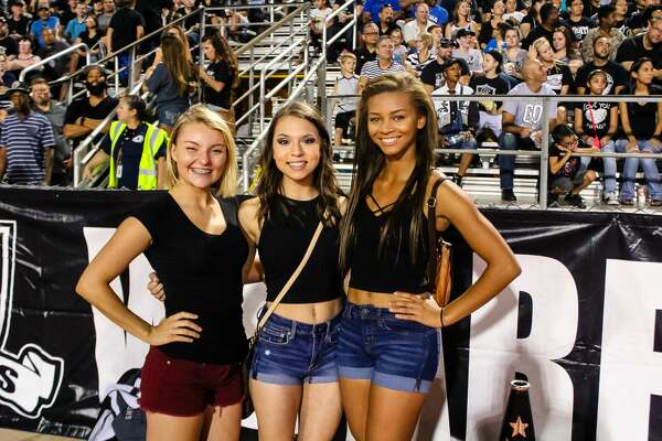 Almost 10,000 fans delighted in high school football, Texas style, when the Judson Rockets and Steele Knights faced-off in one of the biggest games of the 2016 season Friday night, Sept. 24, 2016, at Lehnhoff Stadium.