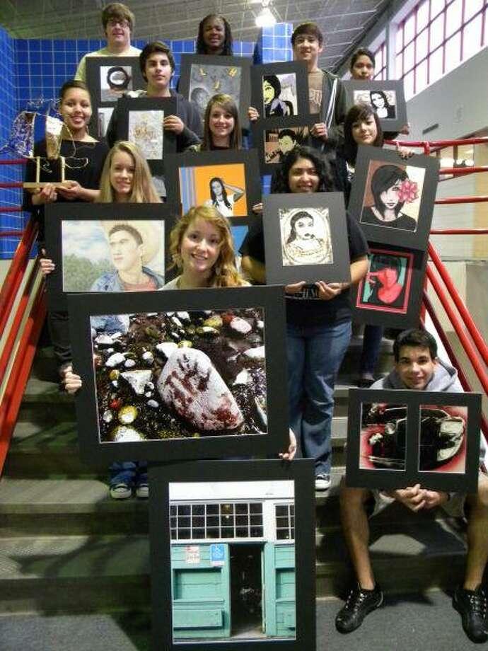 Oak Ridge High School art students display their talents.