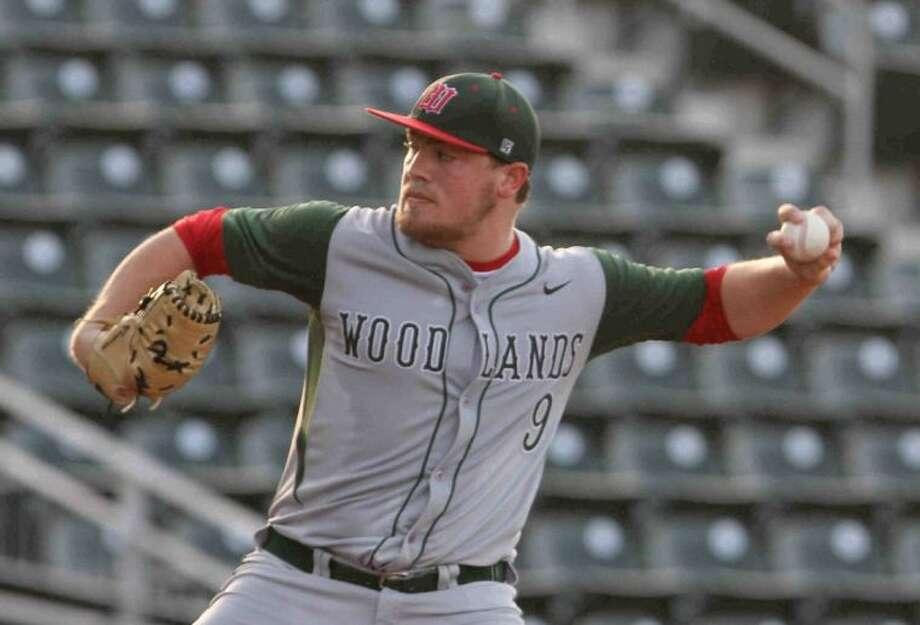 The Woodlands senior pitcher Ryan Burnett