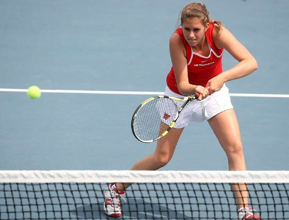 The Woodlands' Catherine Wythe will team up with Magnolia's Jireh Groenow in the Girls 16 Doubles event at The Woodlands Junior Clay Court Championships this weekend. The duo is ranked No. 1.