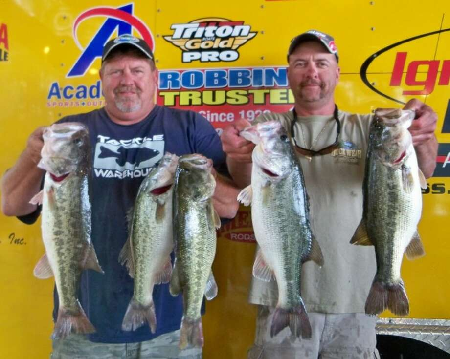 Joe New and Todd Gurka won the Ignition Bass Team Tournament No. 3 with five fish weighing 23.02 pounds.