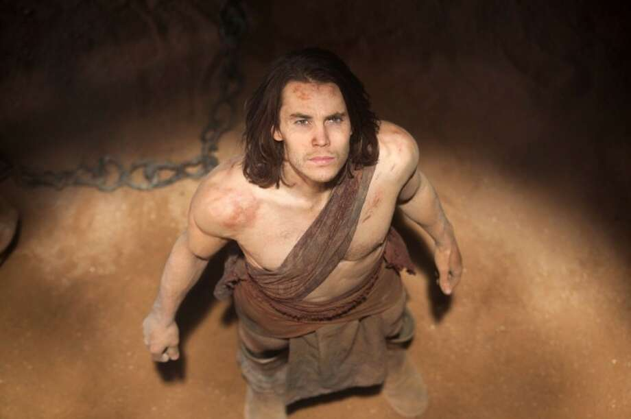 "In this film image released by Disney, Taylor Kitsch is shown in a scene from ""John Carter."" Photo: Frank Connor"