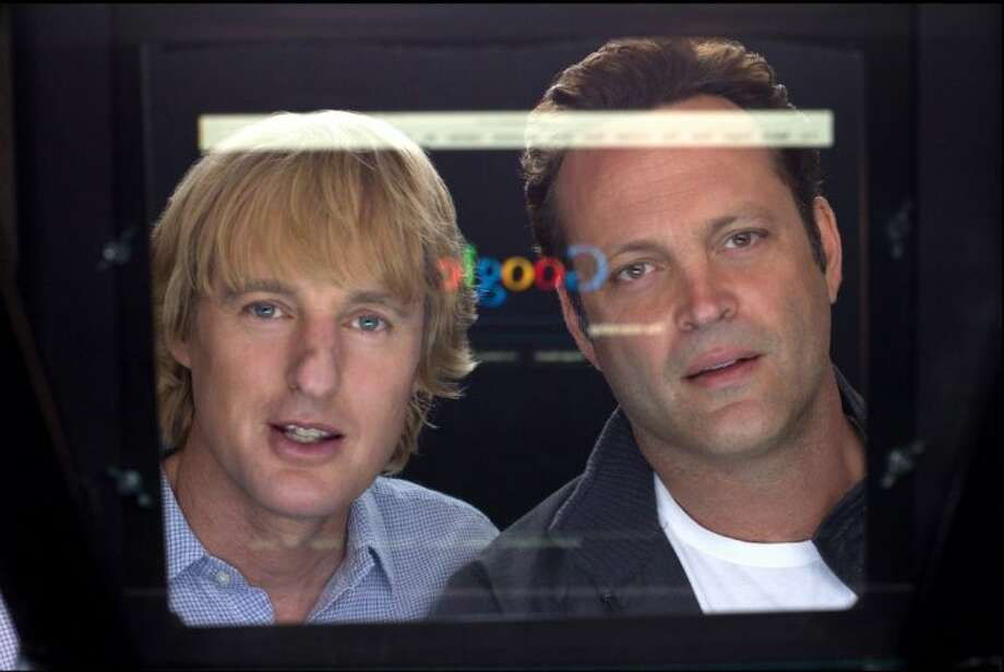 "This film publicity image released by 20th Century Fox shows Owen Wilson, left, and Vince Vaughn in a scene from ""The Internship."" Photo: Phil Bray"