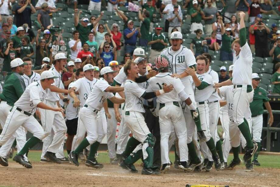The Woodlands earned its third Class 5A state baseball championship with victories over Northside O'Connell and Dulles. The Highlanders finished their memorable season with a 38-4 record. Photo: Staff Photo By Jason Fochtman