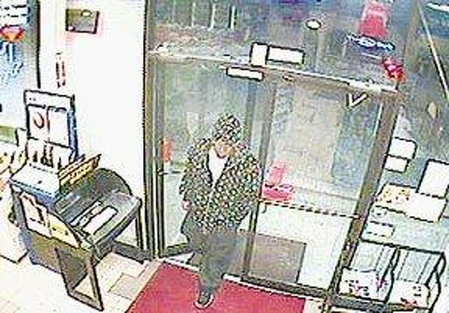 Oak Ridge North police are looking for the man involved in an armed robbery Tuesday night at the Texaco on Hanna Road.