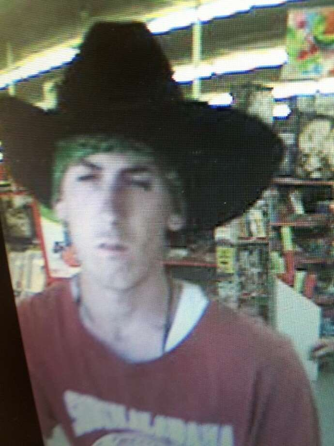 Conroe Police Officers are searching for this man in connection with a robbery at Family Dollar Monday afternoon.