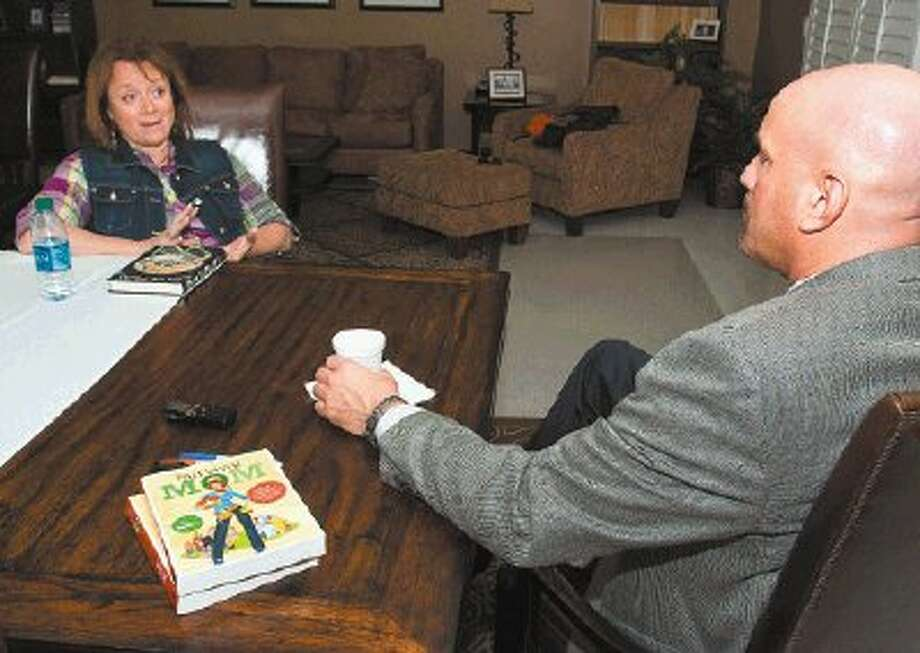 Lisa Bedford, author of Survival Mom, came to Huntsville to speak at SHSU's Let's Talk event, and she sat down with Professor Mike Yawn to discuss her career(s), her book and, of course, survival tips. Photo: Brian Blalock / Sam Houston State University