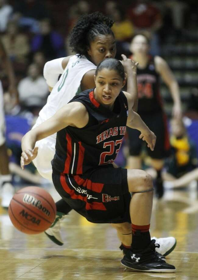 Texas Tech guard Monique Smalls earned all-Big 12 honorable mention recognition and was one of five players named to the conference's all-defensive team.
