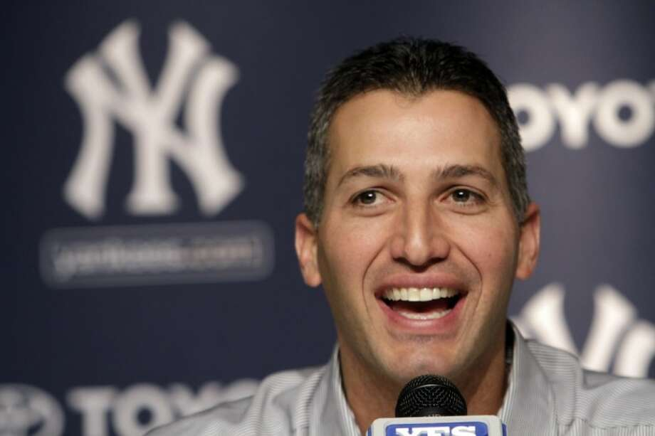 FILE - In this Feb. 4, 2011 file photo, New York Yankees pitcher Andy Pettitte speaks to reporters during a baseball news conference announcing his retirement, at Yankee Stadium in New York. Pettitte is making a comeback with the Yankees. The Yankees announced Friday that Pettitte had signed a minor league deal with the team with an invitation to big league spring training. Photo: Mary Altaffer
