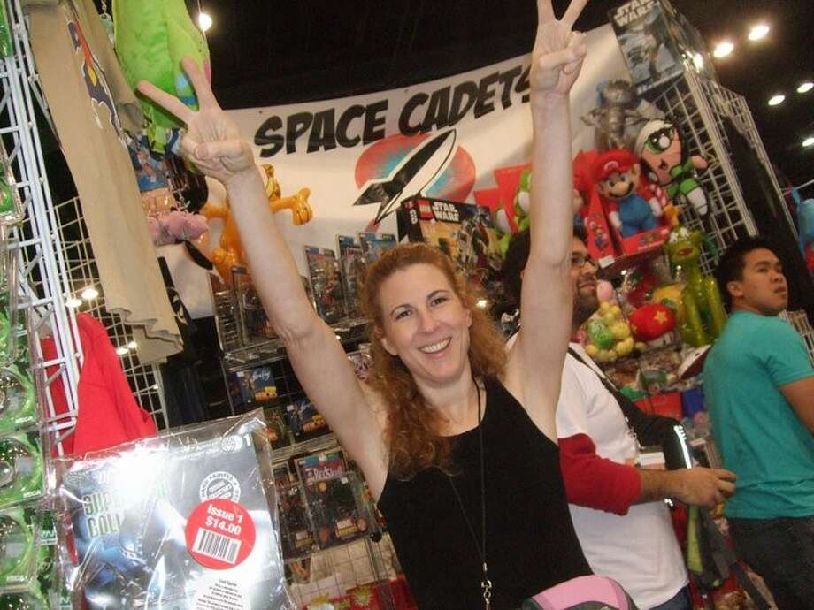 Jennifer King, owner and manager of Space Cadets Collection Collection, is excited to have another booth at Comicpalooza 2013.