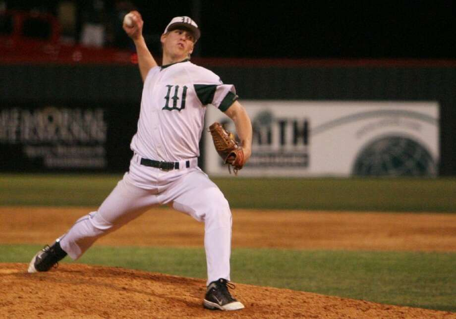 The Woodlands' pitcher Bryan Brickhouse signed with the Kansas City Royals Monday for $1.5 million. Photo: Eric S. Swist