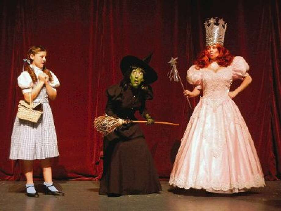 "The Stage Right production of ""The Wizard of Oz"" is set for July 12-28 at the Crighton Theatre and features, from left, Cosette Czarnopis, Carolyn Wong and Elizabeth Garrett Curtin."