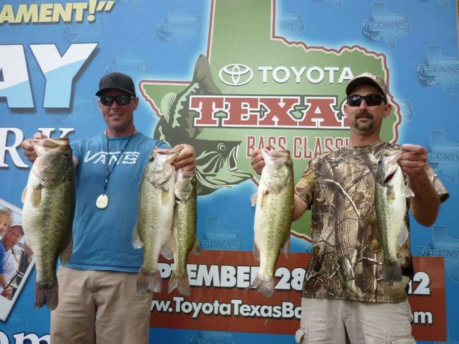 Wagner and Mertz had the second heavy stringer of the day in the Toyota Texas Bass Classic Sunday Morning tournament.