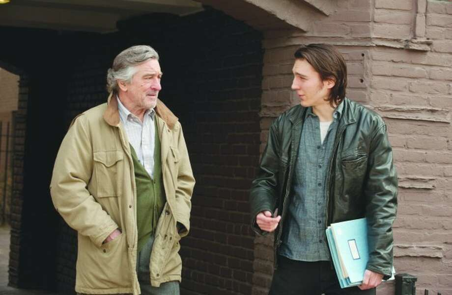 "Robert DeNiro as the father Jonathan and Paul Dano as son Nick in ""Being Flynn."" The real-life Nick Flynn teaches creative writing at the University of Houston."