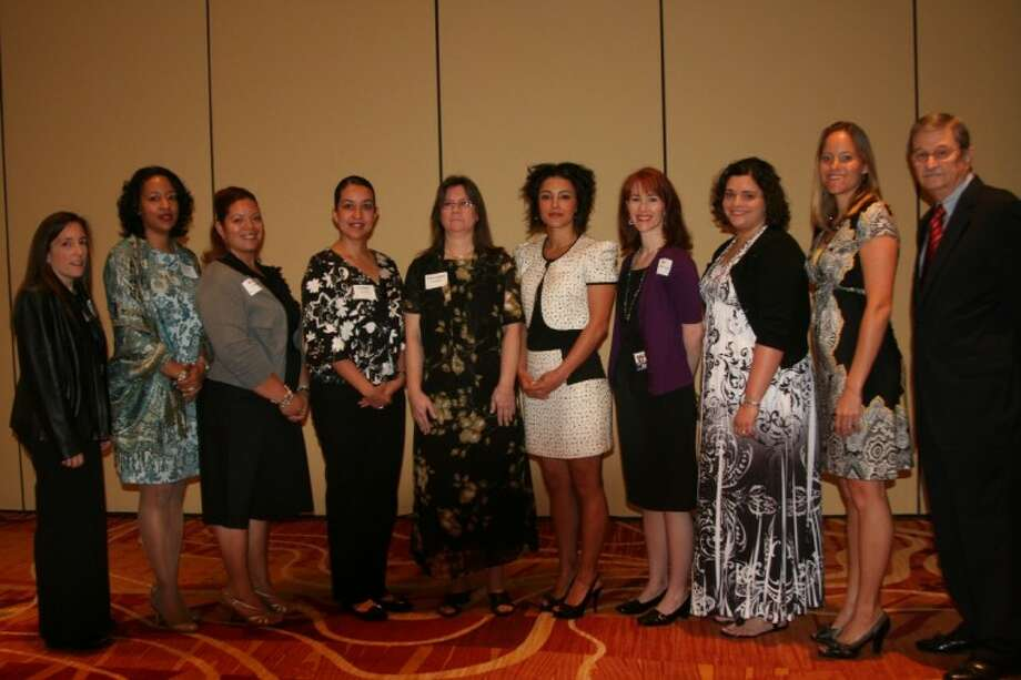 The Conroe ISD Education Foundation presented 16 Conroe ISD teachers with 500 scholarship to further their education during Tuesday's Conroe ISD Education Foundation Scholarship Breakfast at The Woodlands Waterway Marriott in The Woodlands.